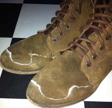 Pas på dine støvler når der saltes