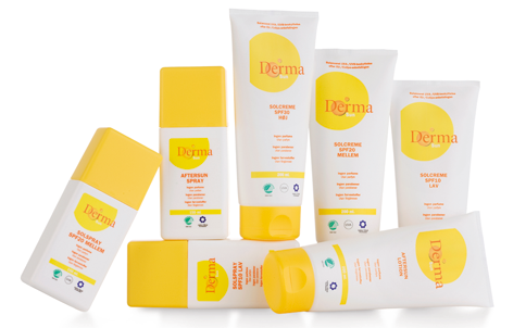 Derma solcreme – beskyt din hud mod solens stråler!