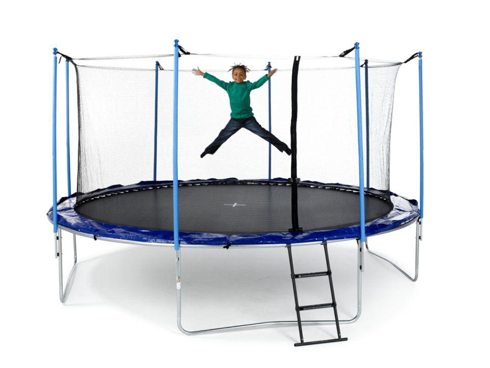 Dejlig Aktiver dine børn med en trampolin til haven! | Min-shopper.dk ZT-51